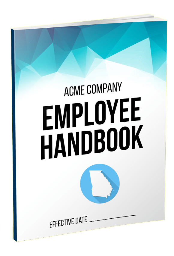 Georgia employee handbook template for Personnel handbook template