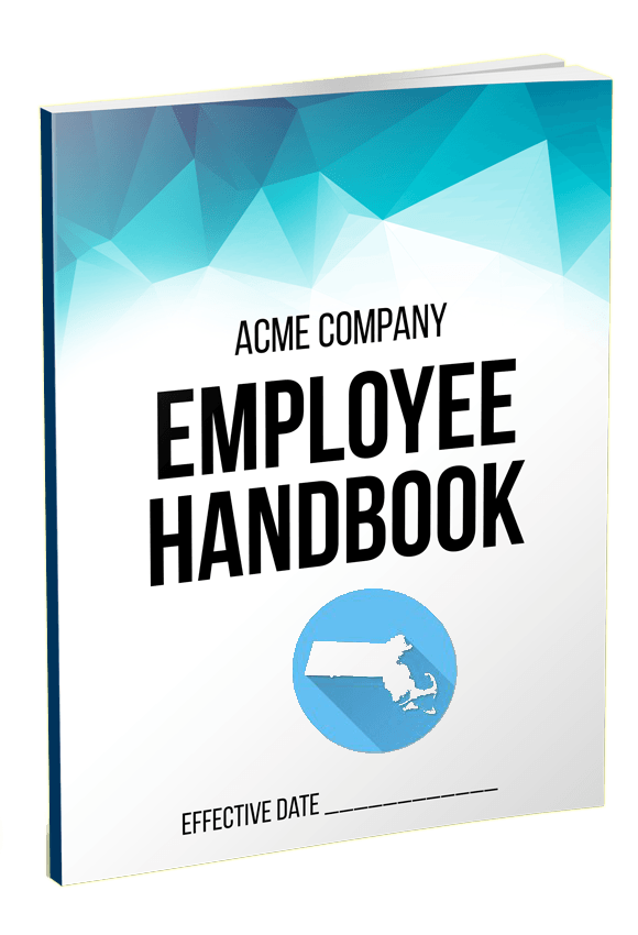 Massachusetts Employee Handbook Template QuickEmployeeHandbookcom - Employee handbook template microsoft word