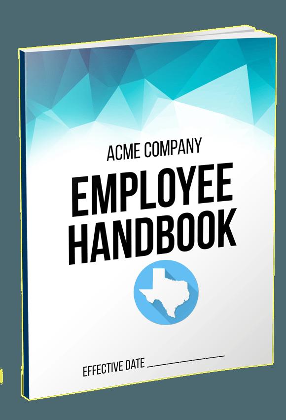 Texas Employee Handbook Template QuickEmployeeHandbookcom - Texas employee handbook template