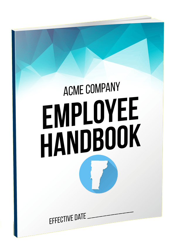Vermont Employee Handbook Template QuickEmployeeHandbookcom - How to create an employee handbook template